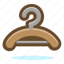 clothes, hanger icon