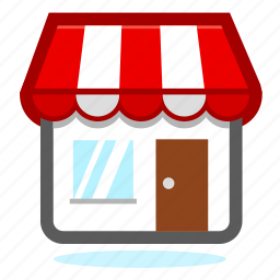 business, ecommerce, office, online, open, sale, shop, shopping icon