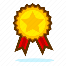achievement, award, best, bookmark, favorite, favorites, featured, gold, golden medal, like, limited edition, medal, prize, reward, special, star, success, trophy, win, winner, winter icon