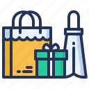 bags, shopping, presents, buying icon