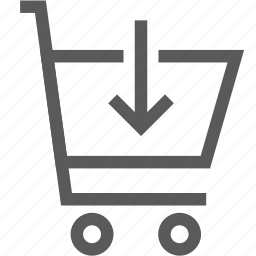 buy, cart, download, market, shop, shopping cart, shopping trolley icon