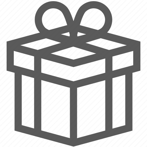 box, christmas, delivery, new year, package, present, ribbon icon