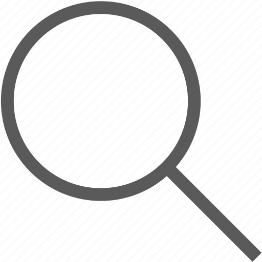 find, glass, search, view, zoom icon