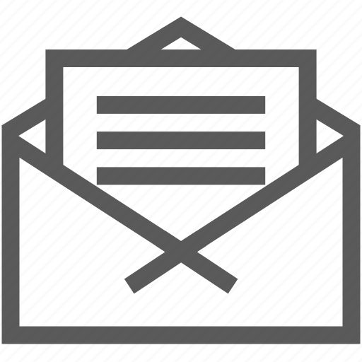 business, help, letter, mail, message, office, postcard icon