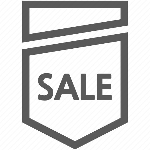 banner, buy, department store, discount, ribbon, sale, tag icon