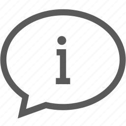 bubble, business, help, info, information, sign, speech bubble icon