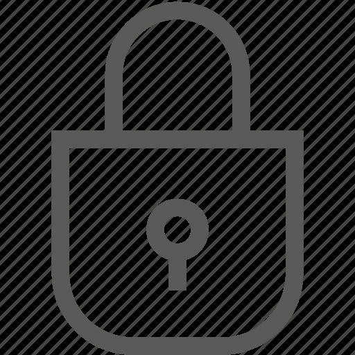 lock, lon in, password, secure, trust icon