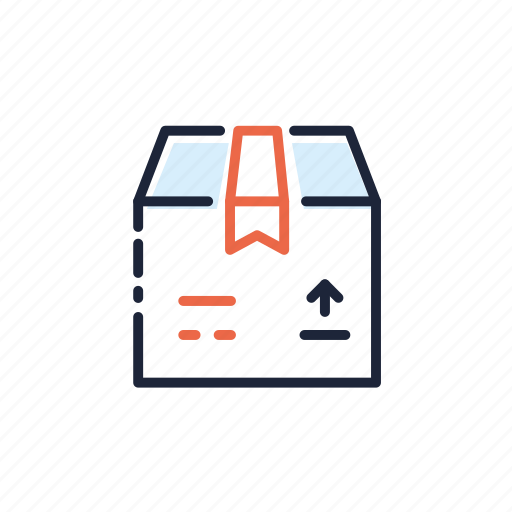 box, business, ecommerce, package, retail, shipment, shopping icon