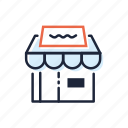 business, ecommerce, market, retail, shopping, store icon