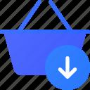 basket, ecommerce, input, shopping