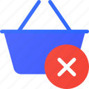 basket, clear, ecommerce, shopping