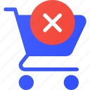 cart, clear, ecommerce, shopping