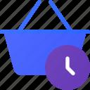 basket, delay, ecommerce, shopping