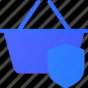 basket, ecommerce, protect, shopping