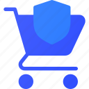cart, ecommerce, protect, shopping