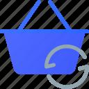 basket, ecommerce, refresh, shopping