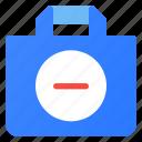 bag, ecommerce, remouve, shopping
