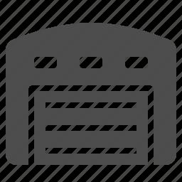 logistics, merchandise, shopping, storage, unit, warehouse icon