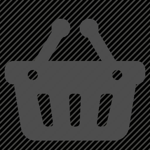 basket, shopping, shopping basket icon