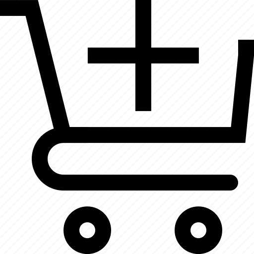 add, bag, basket, cart, plus, shop, shopping icon