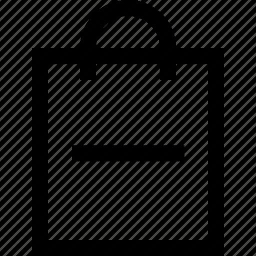 bag, basket, cart, minus, shop, shopping, subtract icon
