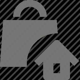 bag, home, house, shopping icon
