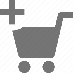 add, cart, new, plus, shopping icon