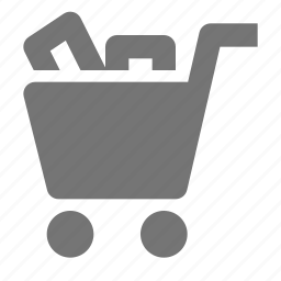 cart, full, items, shopping icon