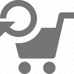 cart, refresh, reload, shopping, sync icon