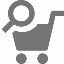 cart, search, shopping, view icon