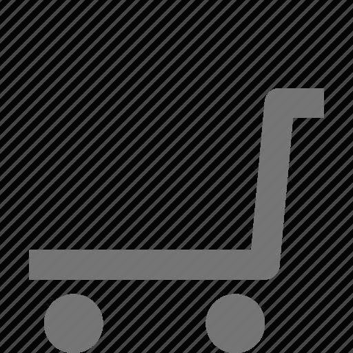 shopping, trolley icon