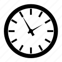 alarm, clock, clockoclock, office, time, timer, wait, watch icon