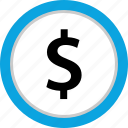 dollar, funds, money, pay icon