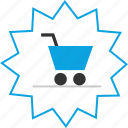 cart, shopping, special, tag icon
