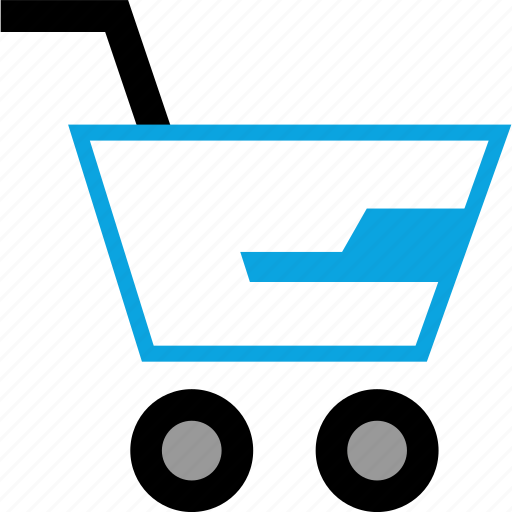 cart, cool, graphic, shop icon