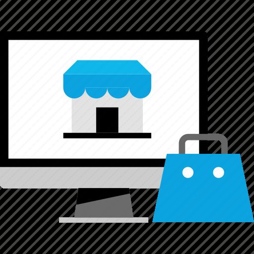 amazon, shopify, shopping, store icon