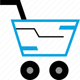 cart, shop, shopping, sleek icon