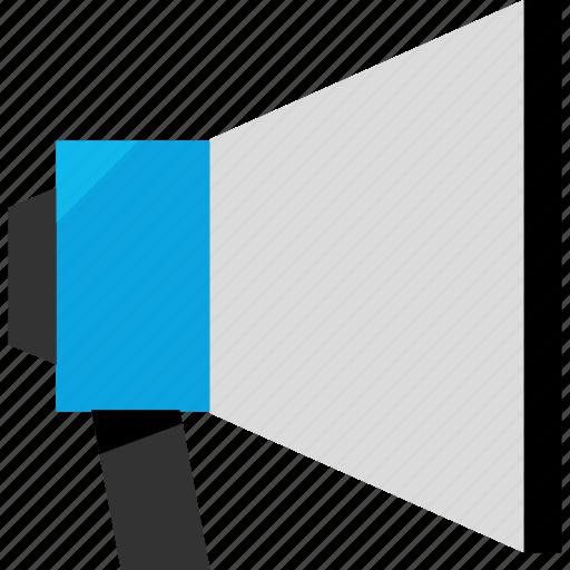 advertise, advertisment, message, speaker icon