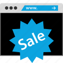 browsing, sale, web, www icon