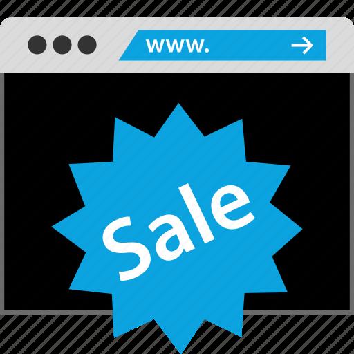 browsing, sale, web, www icon
