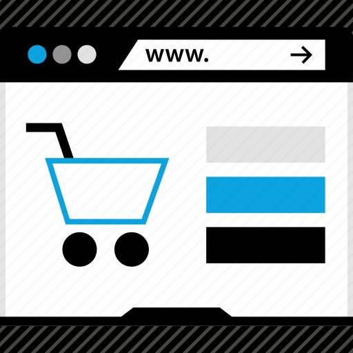 amazon, internet, shopping, www icon