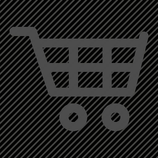 buy, cart, empty, marketplace, shopping icon