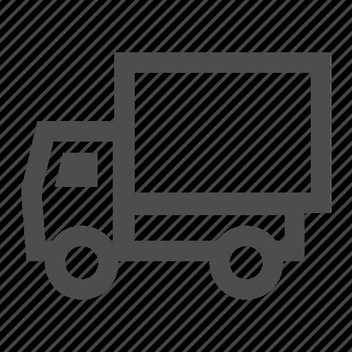 ecommerce, logistics, shipping, transportation, truck, vehicle icon