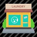 laundry services, public wash, laundry room, laundry shop, laundry house, laundromat