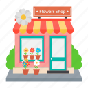 flowers shop, flower market, flower mart, florist shop, flower store, plant nursery