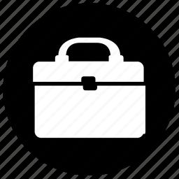 bag, item, label, pack, round, shoulder icon