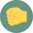 fight, fist, hit, punch icon