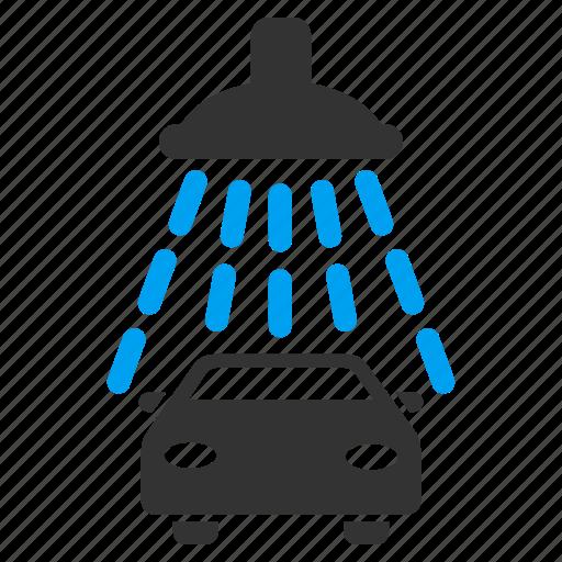 auto, automobile service, car shower, carwash, vehicle, wash, washing icon