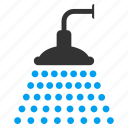 bath, clean, cleaning, disinfection, shower, spray, water icon