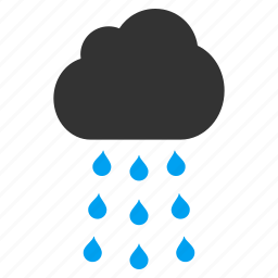 autumn, cloud, cloudy sky, rain, rainy weather, storm, water drops icon